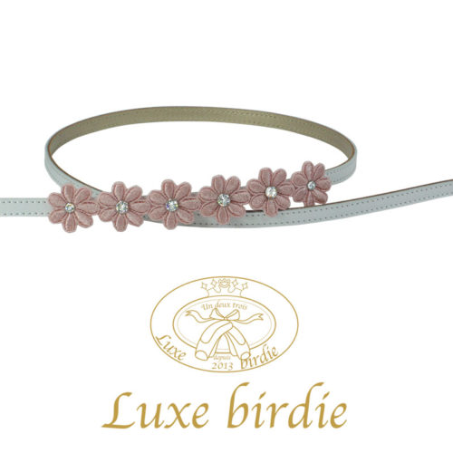 The Priscilla Collection – Pink Florals Leash by Luxe Birdie